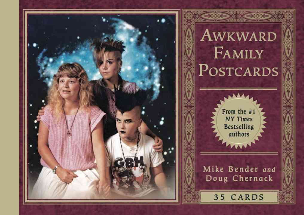Awkward Family Photos Postcard Book By Bender, Mike/ Chernack, Doug
